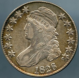 1826 Bust Half Dollar Choice XF-45
