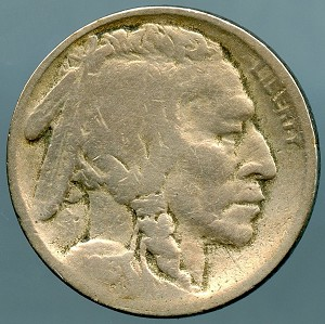 1913 S T2 Buffalo Nickel Good