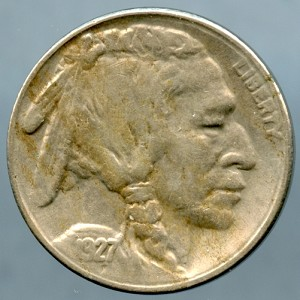 1927 S Buffalo Nickel XF-45 +
