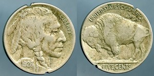 1926 D Buffalo Nickel VF