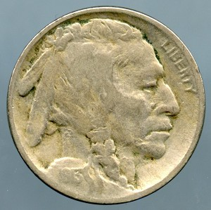 1913 TY2 Buffalo Nickel VF-20