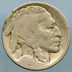 1914 D Buffalo Nickel About Good