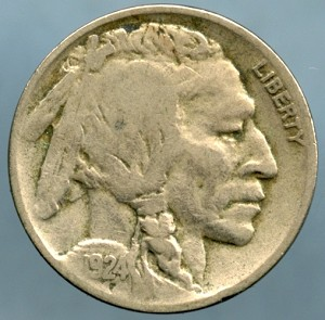 1924 D Buffalo Nickel Fine