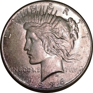 1926 Peace Dollar MS-63