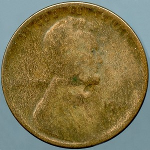 1924-D Lincoln cent  AG