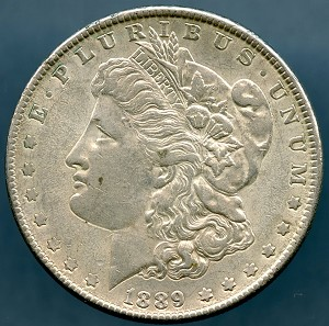 1889 Morgan Dollar XF-45