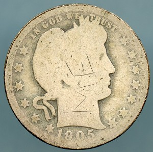 1905 Barber Quarter Cull