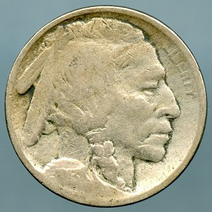 1913 T2 Buffalo Nickel Good