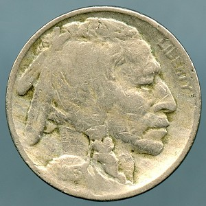 1913 T2 Buffalo Nickel Very Good
