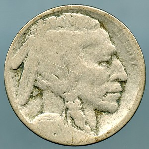 1914 Buffalo Nickel About Good