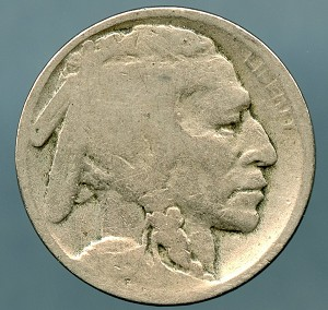 1915-D Buffalo Nickel AG