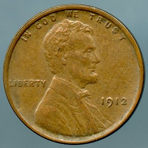 1912 Lincoln Cent XF-40