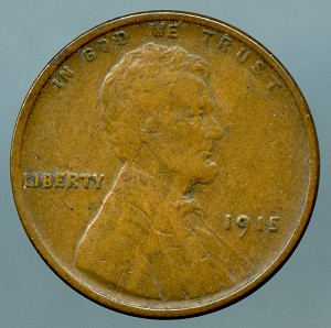 1915 Lincoln Cent VF-20
