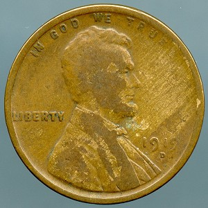 1919-D Lincoln Cent Good