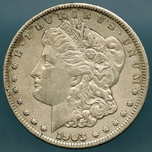 1903 Morgan Dollar Choice XF-45