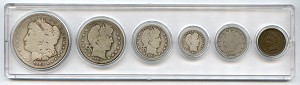 1904 United States Year Set - 6 Coin Set